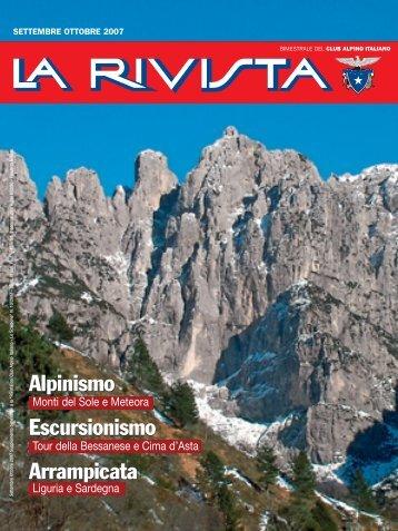 CAI SETT OTT 07 - Club Alpino Italiano