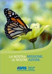 La nostra MISSIONE, Le nostre AZIONI. - Avis
