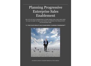 Planning Progressive Enterprise Sales Enablement