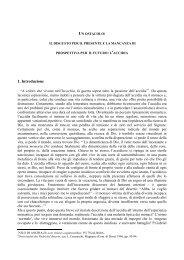 1. Introduzione - Verso Il Cenobio