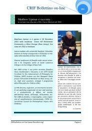 Leggi l'intervista di Fausto Malcovati in Hystrio - Sonia