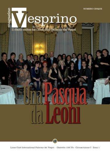scarica la tua copia - Lions Palermo dei Vespri