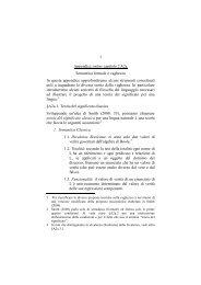 1 Appendice online capitolo 2 A2a Semantica formale e vaghezza In ...