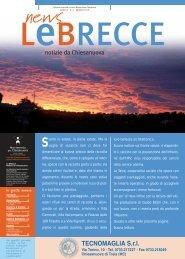Le Brecce - numero 7 - agosto 2008 - Movimento per Chiesanuova