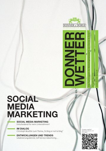 SOCIAL MEDIA MARKETING - Donner & Doria