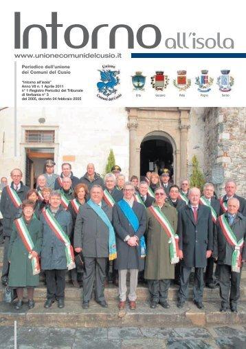 Aprile 2011 - Unione Comuni del Cusio