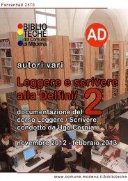versione .pdf - Comune di Modena