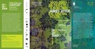 JAMES JOycE E IL cInEMA vOLTA - Rete Civica di Trieste