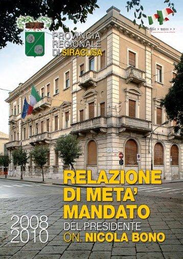 1. piano territoriale provinciale - Nicola Bono