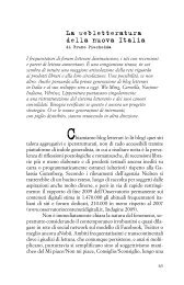 La webletteratura della nuova Italia - Fondazione Arnoldo e Alberto ...