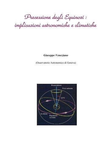 06 - Precessione degli Equinozi - Osservatorio Astronomico di Genova