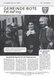Februar 2005 - Gewerbeverband Feldafing