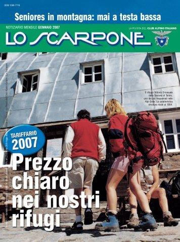 Gennaio - Club Alpino Italiano