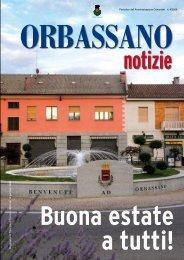 Luglio 2009 - Comune di Orbassano