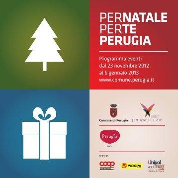 PerNATALE PerTE PERUGIA - Comune di Perugia