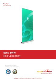 Easy Style Roll Up-Display - Easydisplay.com