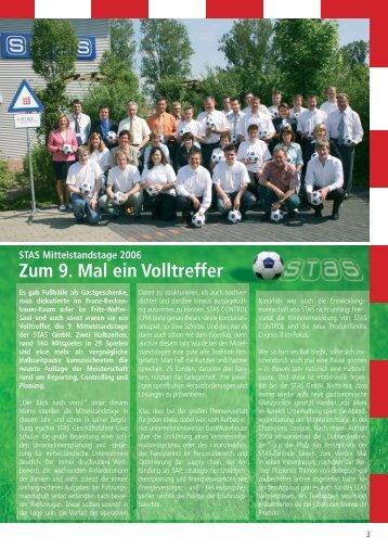 Zum 9. Mal ein Volltreffer - STAS GmbH