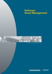 Software Asset Management - STAS GmbH