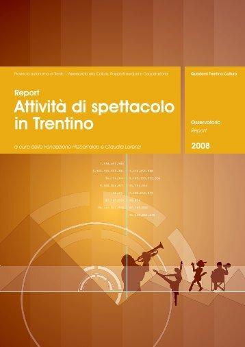 SCARICA report - Fondazione Fitzcarraldo