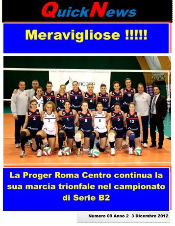 QuickNews - ASD Roma Centro Volley - Home page