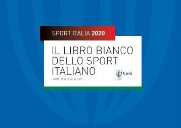 sport italia 2020 - Cultura in Cifre