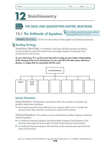 stoichiometry calculations worksheet | Cleverwraps