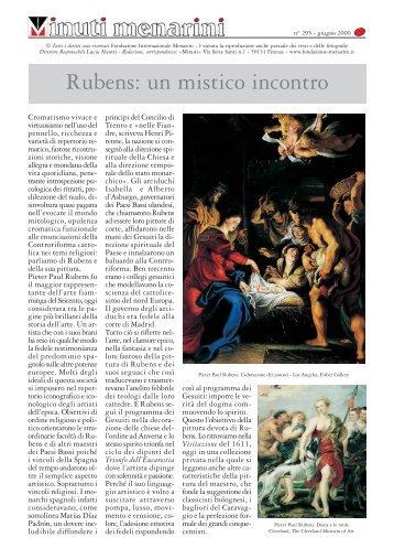 295 Rubens- un mistico incontro - Fondazione Internazionale Menarini