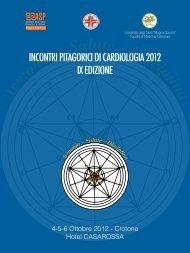 INCONTRI PITAGORICI DI CARDIOLOGIA 2012 IX EDIZIONE