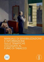 Manuale di sensibilizzazione e inforMazione sulle teMatiche ...