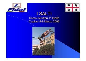 I SALTI - Fidal Sardegna