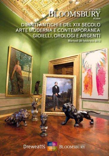 dipinti antichi e del xix secolo arte moderna e contemporanea ...
