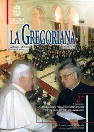 numero ventisette- Dicembre 2006 - Gregoriana