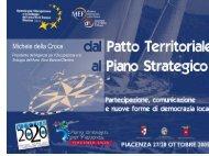 Michele Della Croce - Piano Strategico per Piacenza