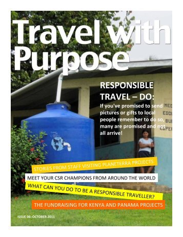 RESPONSIBLE TRAVEL – DO: - STA Travel