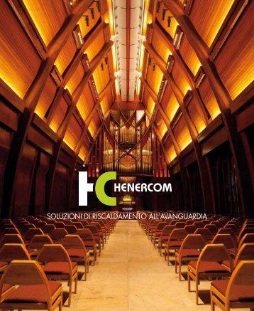 Scarica il PDF della Brochure HENERCOM divisione di ARS Audio