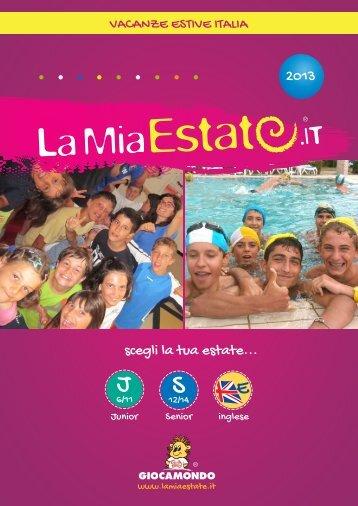 2013 scegli la tua estate... - La Mia Estate