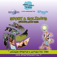 SPORT & HOLIDAYS - Sport and Holidays
