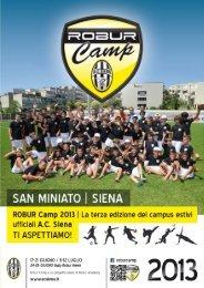 Scarica la brochure informativa in Pdf - AC Siena