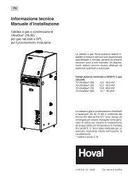 Informazione tecnica Manuale d'installazione - Mbcalor.it