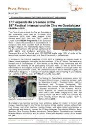 Festival Internacional de Cine en Guadalajara  - European Film ...