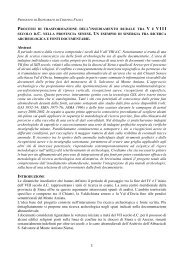 Scarica in formato PDF - Portale di Archeologia Medievale