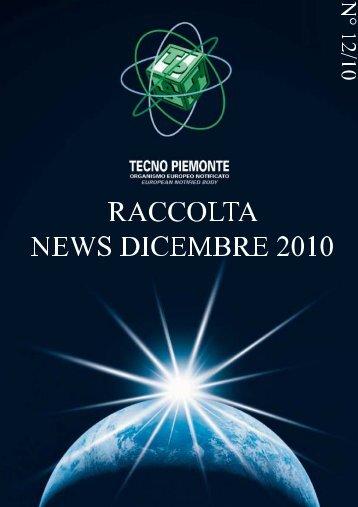 12.10 - raccolta news dicembre - Tecnopiemonte