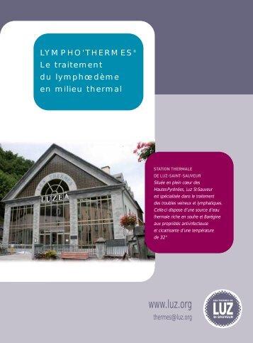 Documentation à télécharger - Thermes de Luz-Saint-Sauveur