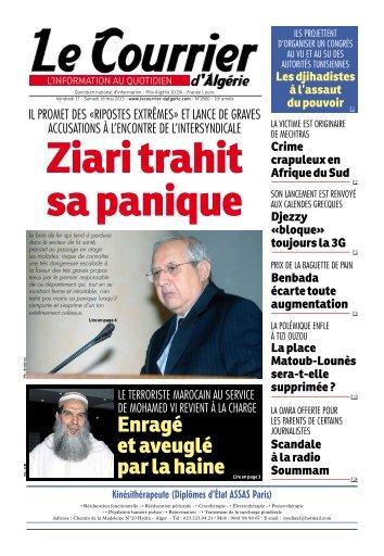 le soir d'algerie journal algerien pdf free