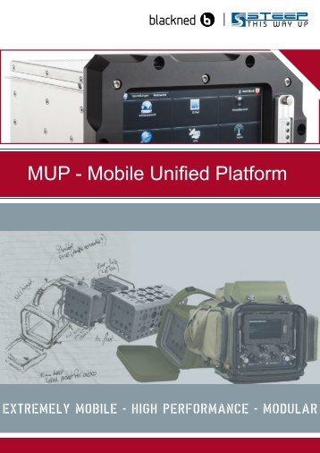 MUP – Mobile Unified Platform brochure - Steep