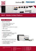 MUP – Mobile Unified Platform brochure - Steep - Page 6