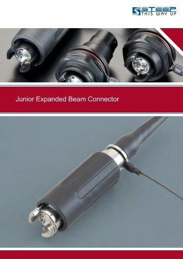 Junior Expanded Beam Connector - Steep