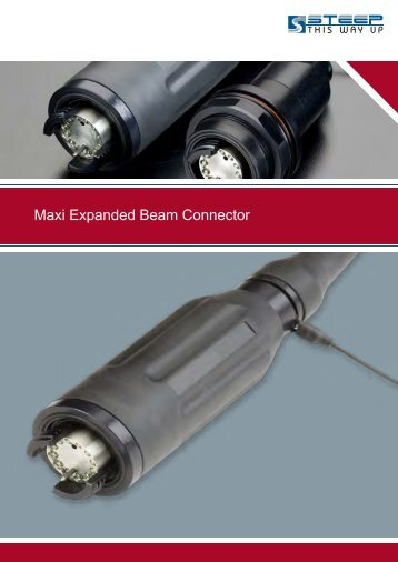 Maxi Expanded Beam Connector - Steep