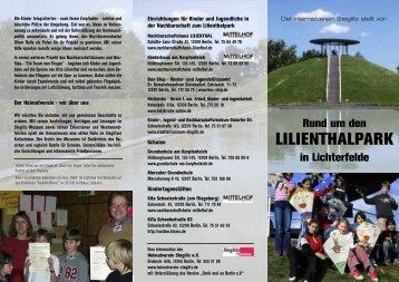 LILIENTHALPARK - Heimatverein Steglitz
