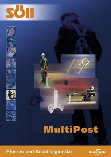 Prospekte Söll: Anschlagpunkte Multipost S. 1-4
